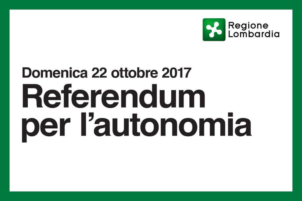 Referendum autonomia Regione Lombardia di Peoplelink e Manpower