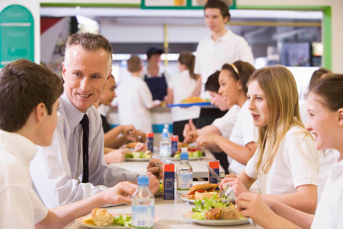 Rilevazione presenze in mensa scolastica universitaria di Peoplelink